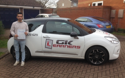 driving lessons in St.Albans Anand Jagitia