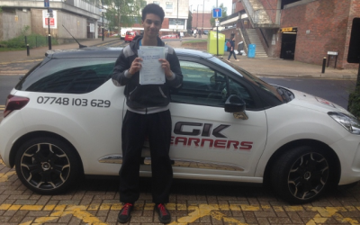 driving lessons in St Albans Shiloh Haynes-Sheppard