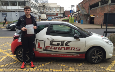 driving lessons in St.Albans Charlie Rance