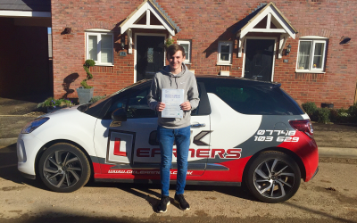 driving lessons in St.Albans Jamie Backler