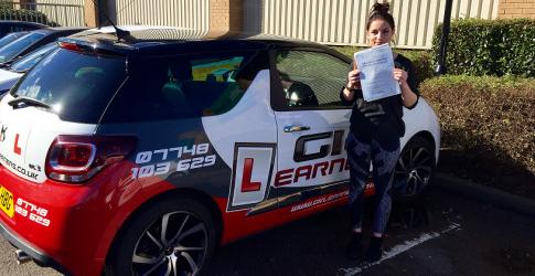 driving lessons Hemel Hempstead Tayla Gillings