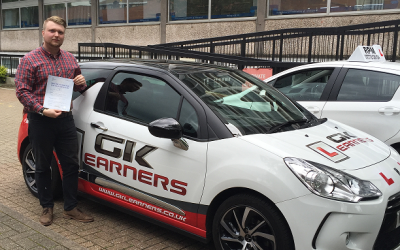driving lessons in St Albans Alex Calver