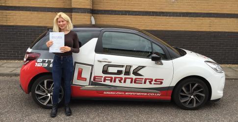driving lessons Hemel Hempstead Emma Gascoyne