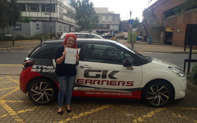 driving lessons in st albans georginia cooper