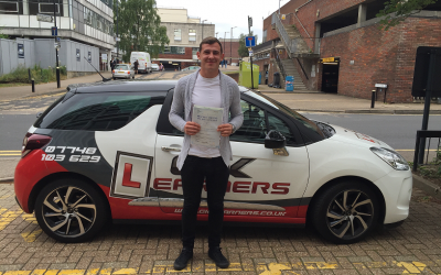 driving lessons in St Albans Jack Roberts