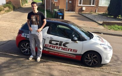 Driving lessons in St Albans Freddie Dickinson