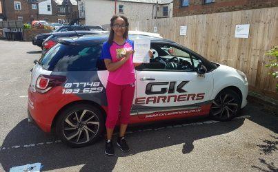 driving lessons in Hemel Hempstead Brandi Ravenhall