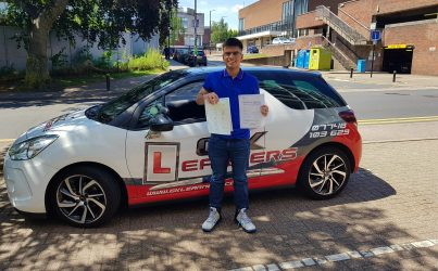 driving lessons in St Albans Usman Hussain