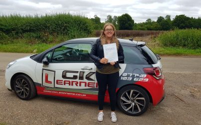 driving lessons in St Albans Charlotte French