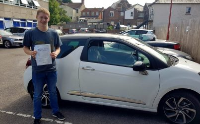 driving lessons in Hemel Hempstead Lewis Trent