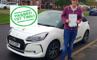 driving lessons in St Albans Billy Price