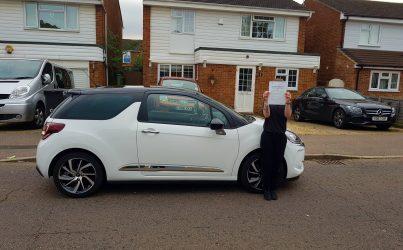 driving lessons in St Albans Paige Longhurst