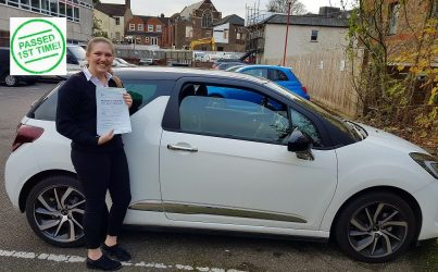 driving lessons in Hemel Hempstead Lauren McShannon