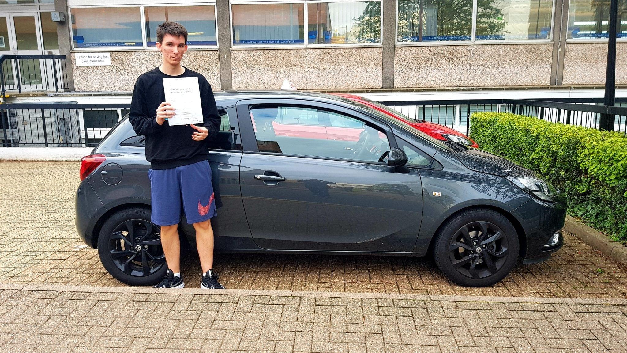 driving lessons in Hemel Hempstead Liam McEwan